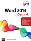 Word 2013 On Demand (eBook)